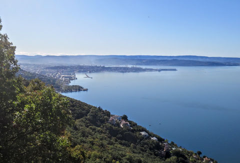 Alpe Adria Trail, Triest, Prosecco, Karst, Strada Vicentina