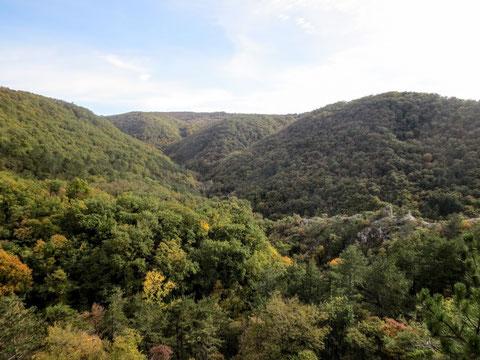 Adria Trail, Rosandratal, Radweg Giordano Cottur, Bahnstrecke