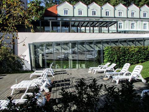 Rogaška Slatina, Hotel, Liegestühle