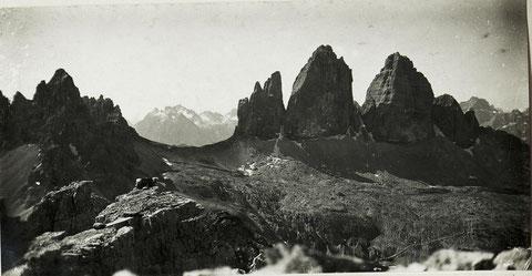 Toblinger Knoten, 1. Weltkrieg, Drei Zinnen