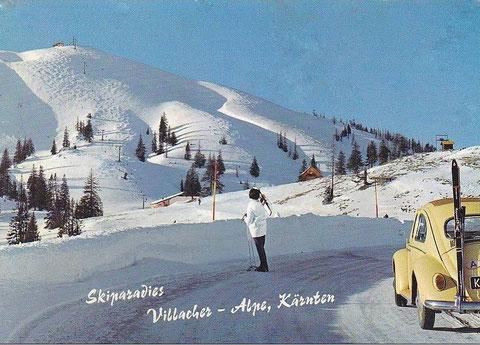 Dobratsch, Skilifte, Liftanlagen, Villacher Alpe, Juliche Alpen