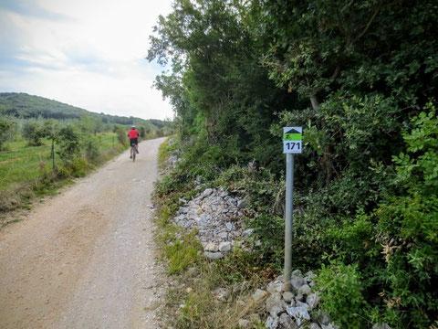 Rovinj, Porec, Limski-Kanal, Istrien, Fahrrad, Bike