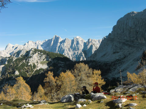 Julische Alpen, Sleme, Vrsic Pass