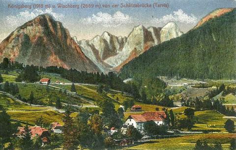 Fast identer Blick über 100 Jahre vorher (ca. 1909)