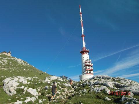 Dobratsch, Villacher Alpe, Sender, Sendeturm