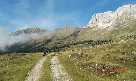 Montasio, Montasch, Julische Alpen, Pecol Alm