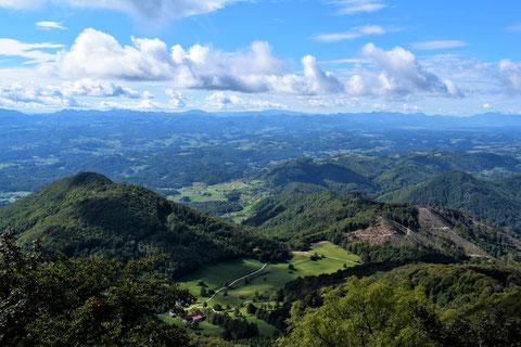 Untersteirisches Hügelland, Slowenien