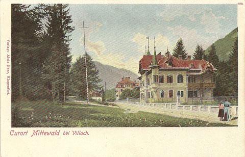Curort Mittewald bei Villach ca 1910