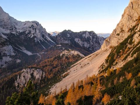 Prisank, Prisojnik, Julische Alpen, Vrsic, Klettersteig, Fensterweg