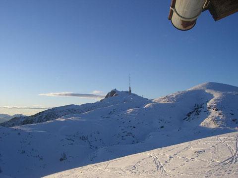 Dobratsch, Villacher Alpe, Alpenstrasse, Wandern, Wanderwege, Skitour, Heiligengeist, Kaserin, Schitour