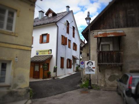 Julius Kugy auch heute noch allgegenwärtig in Valbruna - der Ort versteht es bestens den Namen seines berühmten Gastes touristisch zu nutzen