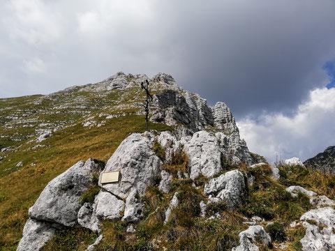 Der Passo degli Scalini  - 2.022 m