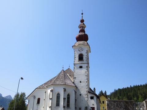 Die Kirche von Saifnitz (Camporosso)