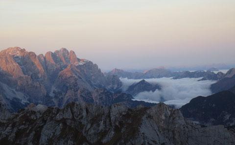 Julische Alpen, Mangart, Klettersteig, Montasch
