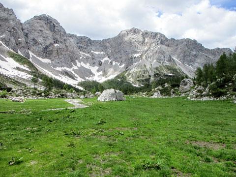 Wolayersee, Karnische Alpen, Gebirge