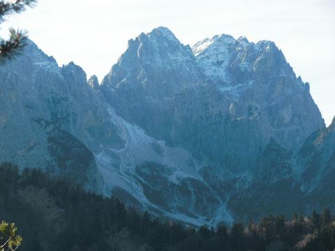 Kaltwasserscharte mit Wischberg 2.666m