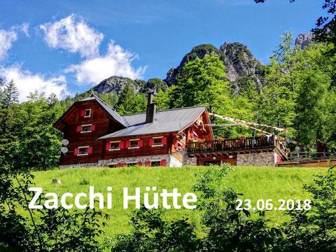 Zacchi Hütte Rifugio, Fusine, Weissenfelser Seen