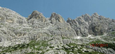 Wischberg, Julische Alpen