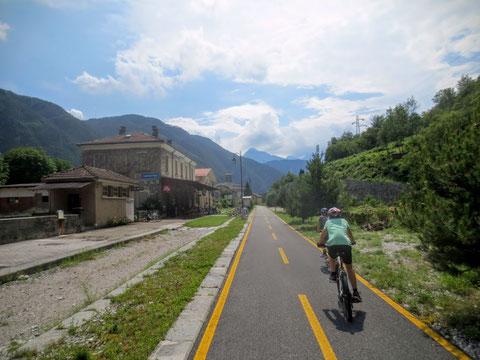 Ciclovia Alpe Adria Radweg, Kanaltal, Tarvis, Julische Alpen