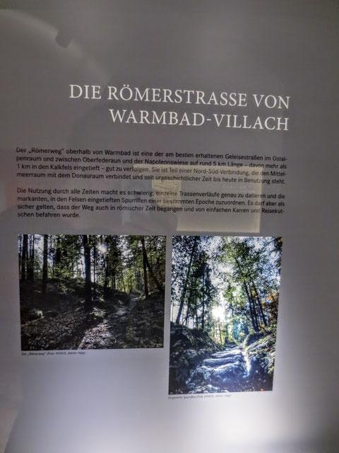 Römerweg, Warmbad Villach