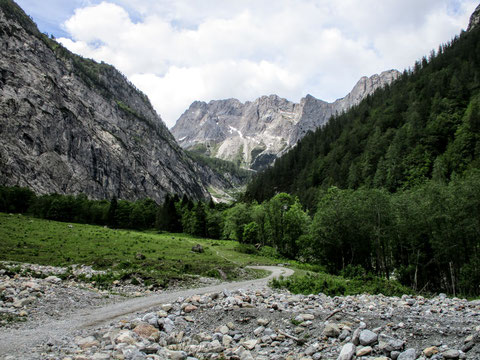 Wolayersee, Berge