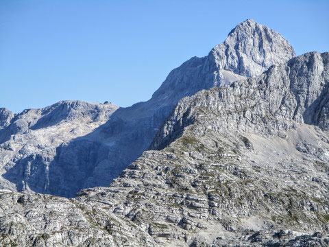 Križ-See, Pogacnik Haus, Julische Alpen, Trenta, Triglav