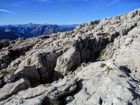Trogkofel, Karnische Alpen, Karst