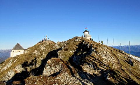 Dobratsch, Villacher Alpe, Gipfel