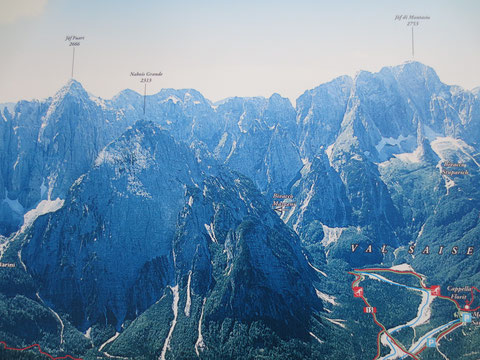 Ciclovia Alpe Adria Radweg, Kanaltal, Julische Alpen, Tarvis, Alpe Adria Trail