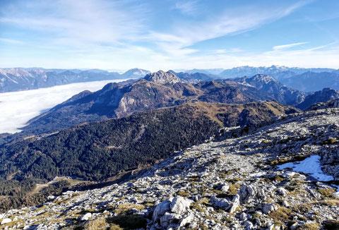 Karnische Alpen, Gipfel,