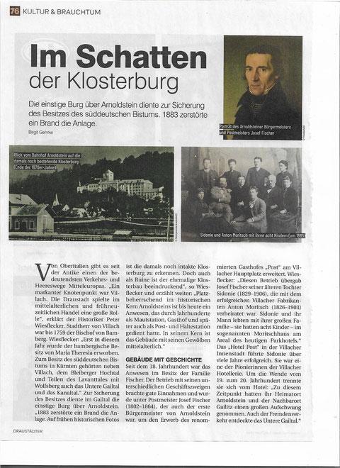 Kloster Arnoldstein, Gailtal