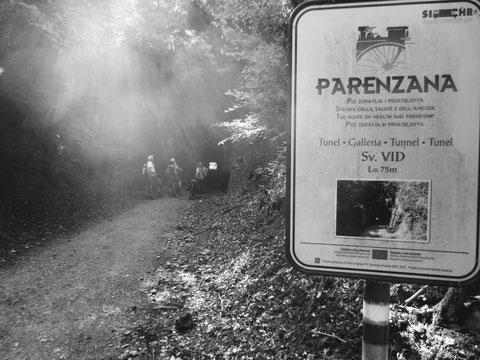 Parenzana, Triest, Porec, Buje, Groznjan, Motovun, Bahntrassenradweg