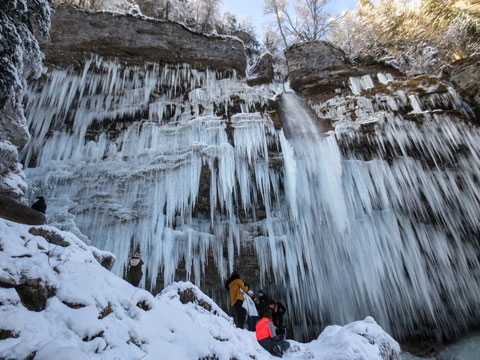 Slap Pericnik Wasserfall, Mojstrana, Vrata, Triglav Nationalpark