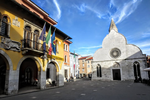 Alpe Adria Trail, Muggia, letzte Etappe, Triest