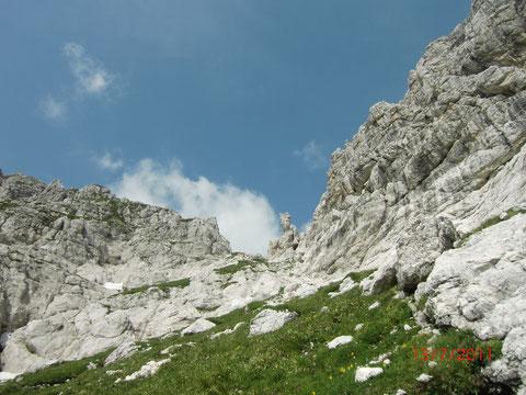 Wischberg, Julische Alpen, Kastreinspitzen