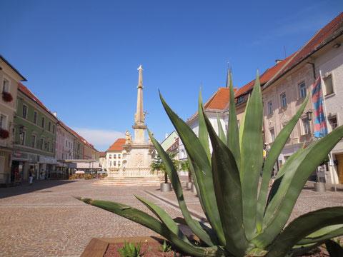 Der Hauptplatz von St. Veit