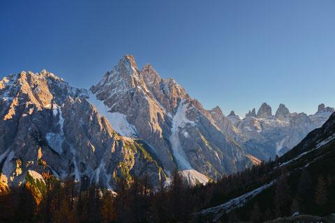 Dreischusterspitze, Sextener Dolomiten, Sexten, Haunoldköpfl