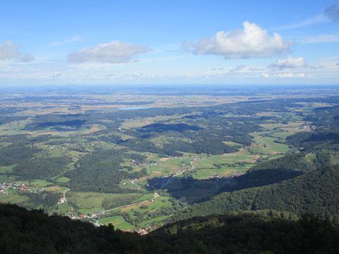 Boc, Rogaska Slatina, Slowenien, Berg, Aussichtsturm