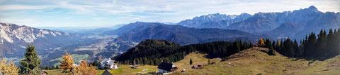 Göriacher Alm, Karnischer Höhenweg, Julische Alpen