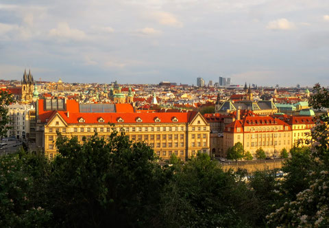 Prag, goldene Stadt, Moldau