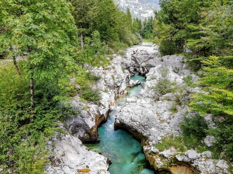 Soča, Fluß, Trenta, Alpe Adria Trail, Julische Alpen