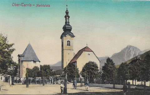 Tarvis Marktplatz, Kirche