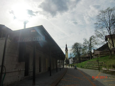Haltestelle Tarvis-Stadt