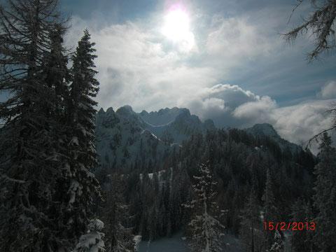 Luschariberg, Pilgerweg, Büßerweg, Julische Alpen