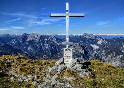 Gipfelkreuz, Monte Schenone, Julische Alpen