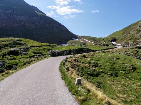 Mangartstraße, Predil, Julische Alpen, Triglav Nationalpark