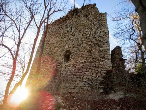 Burg Strassfried, Arnolstein, Römerweg, Thörl Maglern, Kärnten