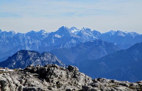 Karnische Alpen, Julische Alpen, Gipfel