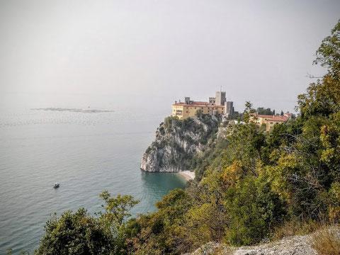 Schloss Duino, Meer