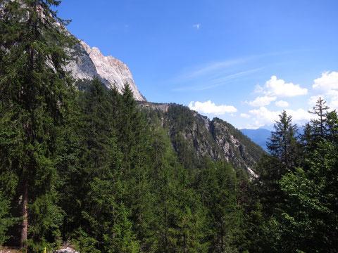 Villacher Alpe, Dobratsch, Schütt